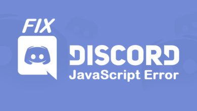 How to fix the Fatal Javascript error on Discord