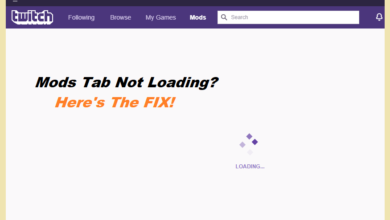 How to fix Mods Tab not loading on Twitch