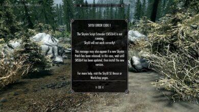 How to fix SKYUI Error Code 1 Skyrim