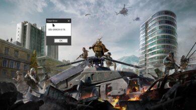 How to fix Modern Warfare Dev Error 6178
