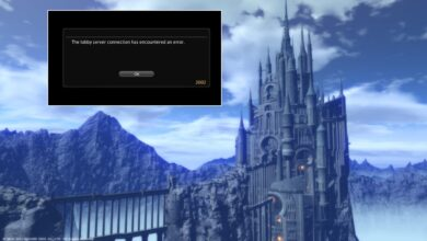 FFXIV Error 2002: The lobby server connection has encountered an error