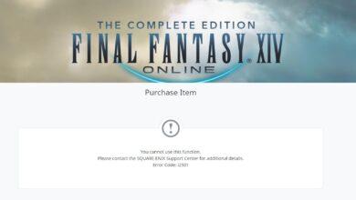 How to fix Square Enix error code i2501