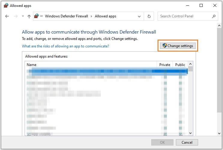 FFXIV Error 2002 Fix: PC firewall settings
