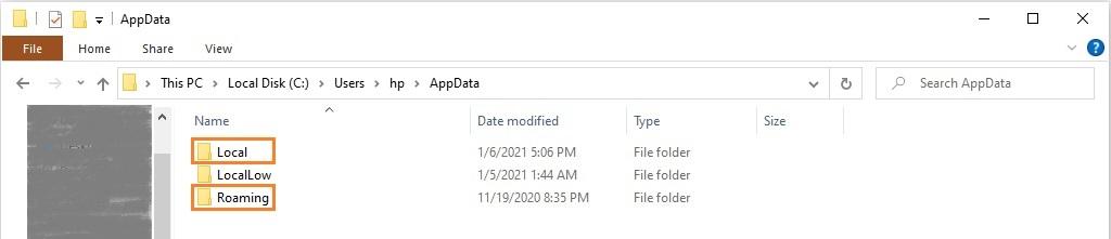 Delete the Steam folder within