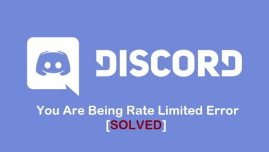 You Are Being Rate Limited error on Discord